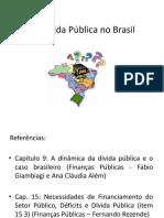 A Dívida Pública no Brasil