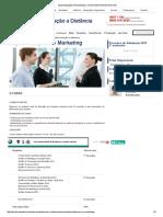 Especialização Em Marketing _ Universidade Anhembi Morumbi