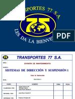 Sistemas Dirección Suspensión 1