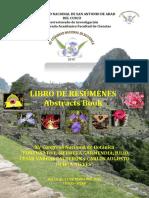 Libro de Resúmenes XV Congreso Nacional de Botánica CONABOT - Cusco - Perú