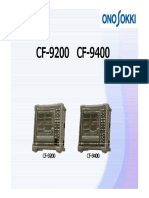 Introduction of Cf9000s