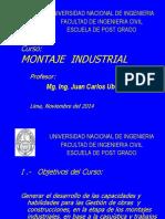 Sesion- Montaje Industrial 2016