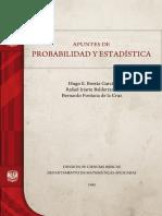 Apuntes de Probabilidad y Estadística