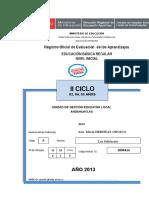 REGISTRO INICIAL 05