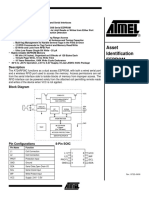 Atmel AT24RF08C EEPROM Data Sheet