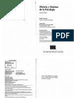 Historia y Sistemas de La Psicologia James f Brennan