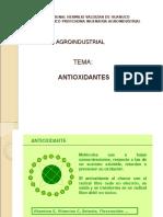 Antioxidantes y sus propiedades