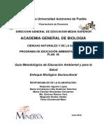 Guia Educacion Ambiental y Para La Salud
