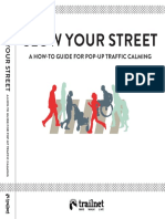 Slow Your Streets - How To Guide_Trailnet 2016