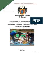 Estudio de Caracterizacion de Residuos Domiciliarios