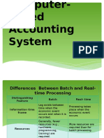 Computer- Based Accounting System