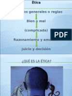 ETICA 1 y Tipos de Etica