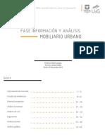 Analisis mobiliario urbano