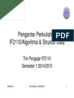 1 - If2110 PengantarPerkuliahan Sem1 1415