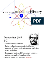 The Atom and Its History