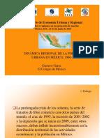 2.3.- Garza, G.- Dinámica Reg. de La Pob. Urbana, 1980-2020