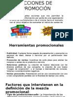 Acciones de Promocion y Canal de Distribucion Diapositivas