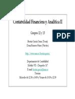 Contabilidad Financiera y Analitica II