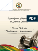 Jurisprudencia Relevante 2014