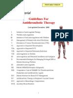 Anticoag Guidelines