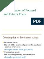 pricing of f&f