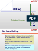 Lecture 9- Decision Making(1)
