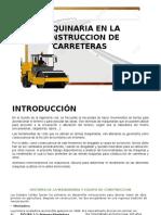 Maquinaria en La Construccion de Carretera