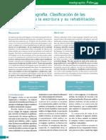 Estudio de la agrafia. Clasificación y mas.pdf
