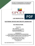 Edc Lab Observation Gpcet (2016-17)