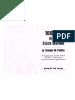 100 to 1 in Stock Market -Thomas Phelps