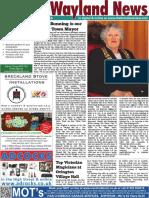 The Wayland News July 2016