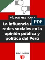 La influencia de las redes sociales en la opinión pública y política del Perú