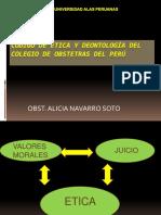 Código de Ética y Deontología Del Cop