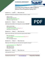MGT602EntrepreneurshipSolvedObjectiveMCQsMidtermPapersForMidtermExamPreparationSpring2013