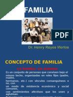 CONCEPTO DE FAMILIA