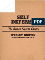 Self Defense by Wesley Brown