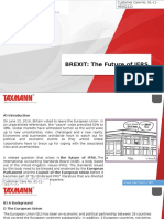 Brexit the Future of Ifrs