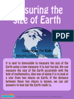 How to Measuring the Size of Earth – Mocomi Kids