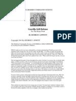 The Modern Commando Science of Guerilla Self Defense by Georg