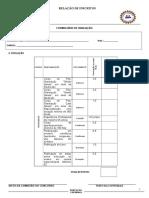 Formulário Para Entrega de Títulos