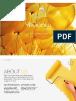 Yellow Slice design Mumbai Profile 2015