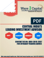 Equity Research Report 04 July 2016 Ways2Capital