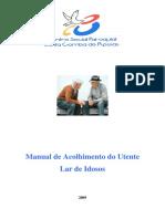 Centro Social e Paroquial de Santa Comba de Rossas Manual Acolhimento Novo Funcionário