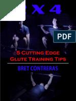 2 x 4 - 5 Cutting Edge Glute Training Tips