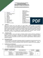 Silabo de Analisis Matematico-Ingenieria Civil - Vacacional