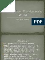 Seven Wonders Pp t