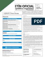 Boletín Oficial de la República Argentina, Número 33.411. 04 de julio de 2016