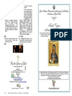 2016 - 11 July - Festal Vespers - Miracle of St Euphemia