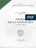 Vidal de La Blache El principio de la geografía general