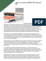 Tema 5 Y 6 Investigacion Comercial. MARKETING, Apuntes De Periodismo (UCM)
